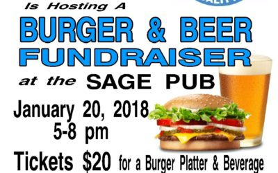 OLWQS Burger & Beer Fundraiser with live & silent auction set for Jan 20, 5-8 PM