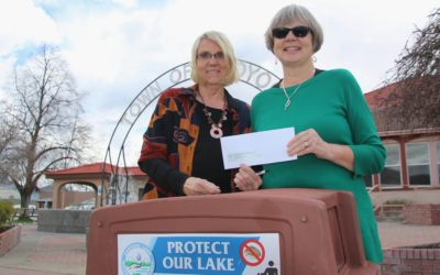 Town of Osoyoos awards OLWQS community grant for pontoon boat