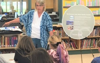 OLWQS educates and informs Osoyoos students about our lake environment