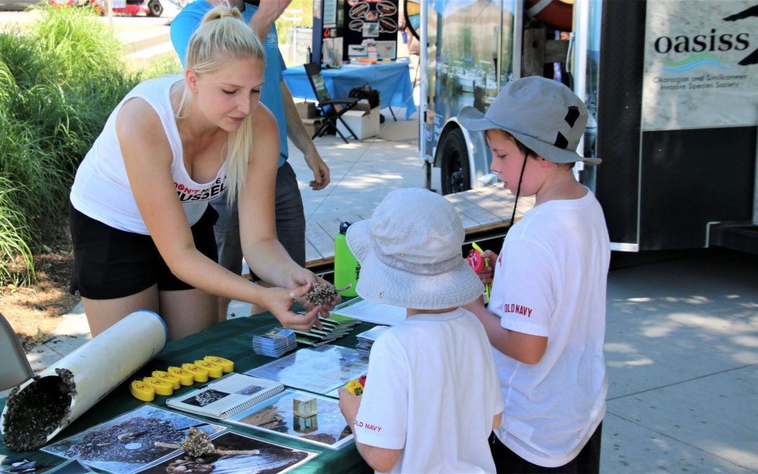 Young minds show keen interest in invasive species & clean water