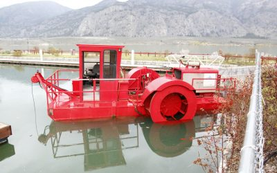 Rototiller weed war expands to North End of Osoyoos Lake